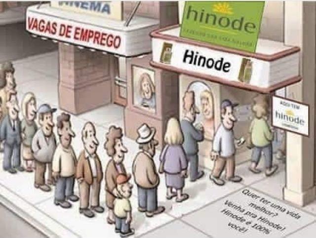Faça o cadastro Hinode no ID 96036
