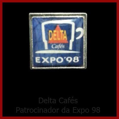 Café Delta 10_Patrocinador Expo 98_Pequeno