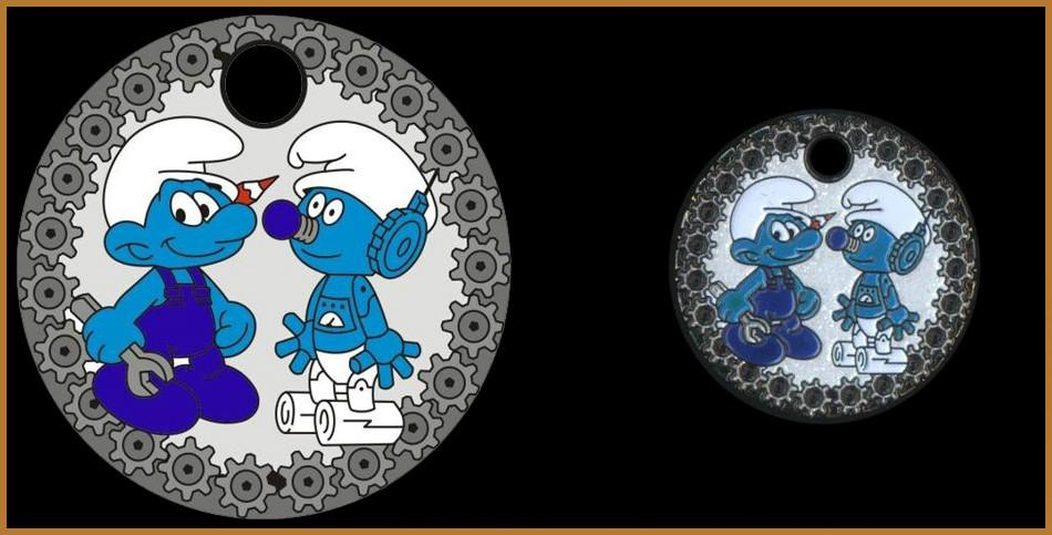 smurfs - Robot