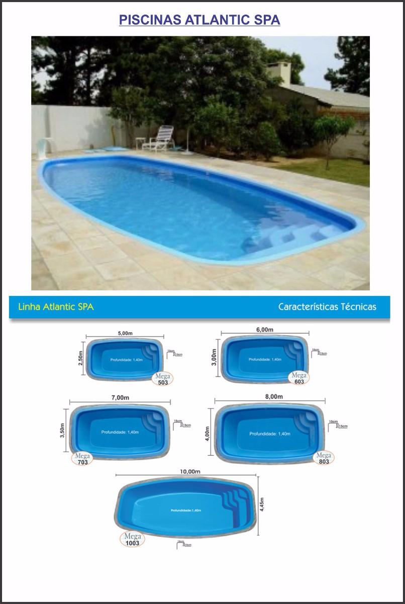 piscina atlantic spa 7,00x3,50
