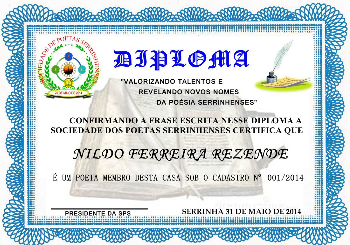 CERTIFICADO DE MEMBROS