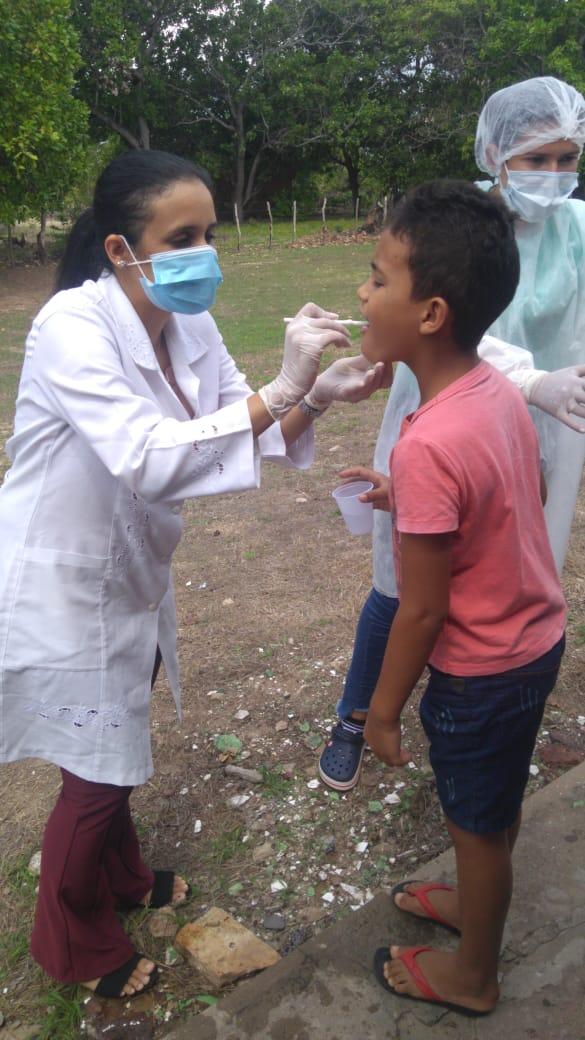 Ações de saúde bucal são realizadas nas escolas do município de Pau D'arco do Piauí