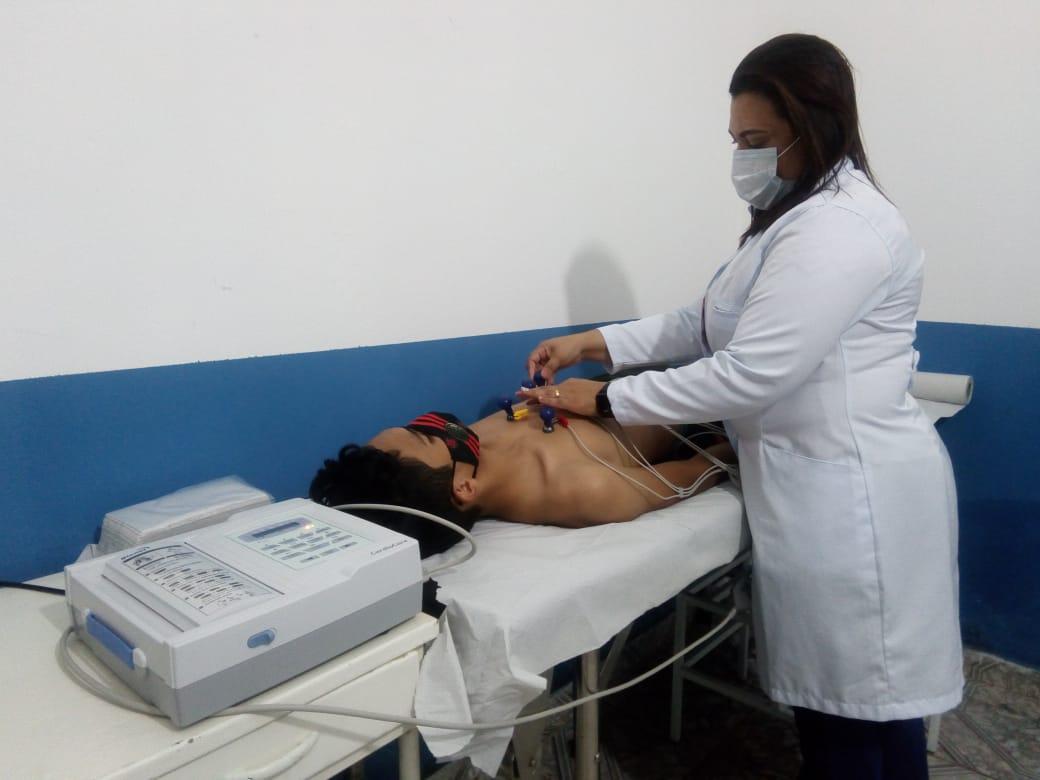 SMS de Pau D'arco do Piauí disponibiliza exames Eletrocardiograma na cidade