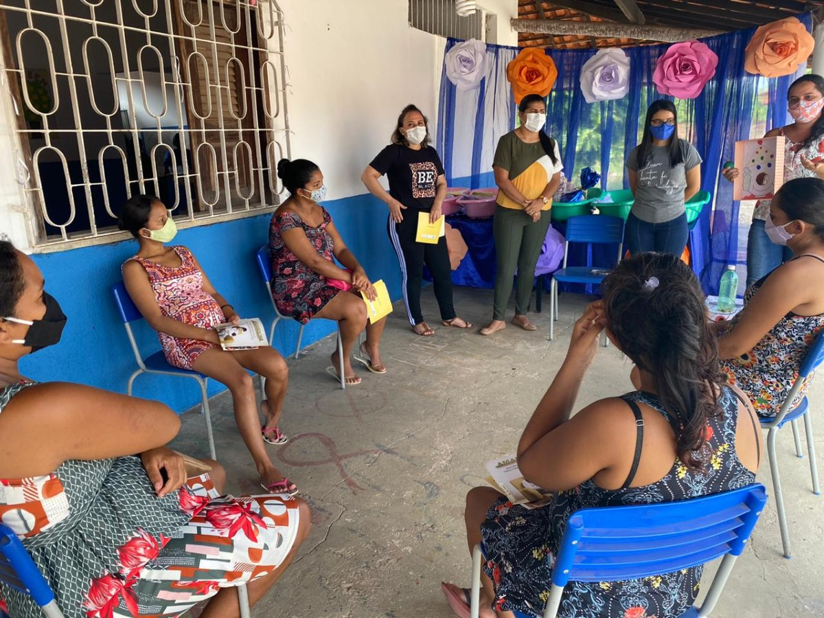 Secretaria de Assistência Social entrega kits de enxoval a gestantes de Pau D'arco do Piauí