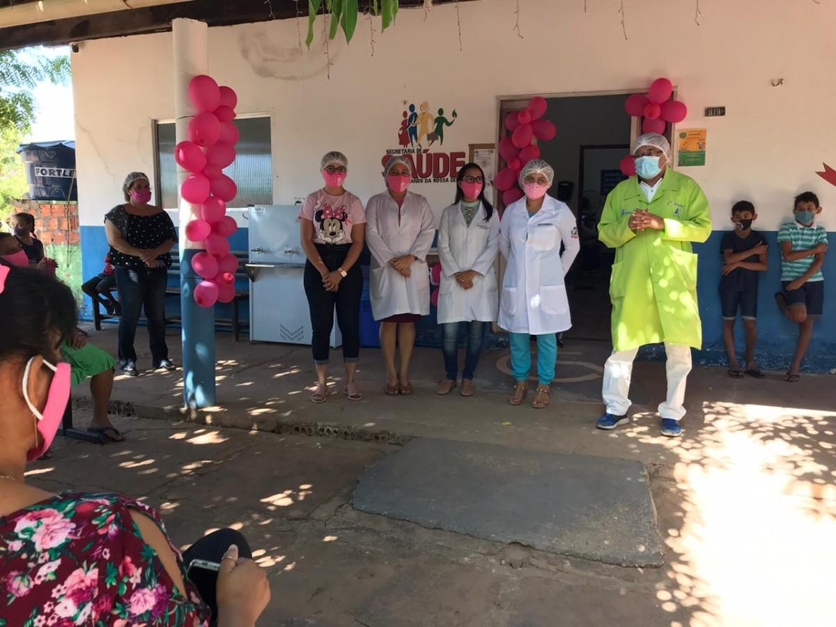 Secretaria Municipal de Saúde realiza palestra alusiva ao Outubro Rosa em Pau D'arco do Piauí