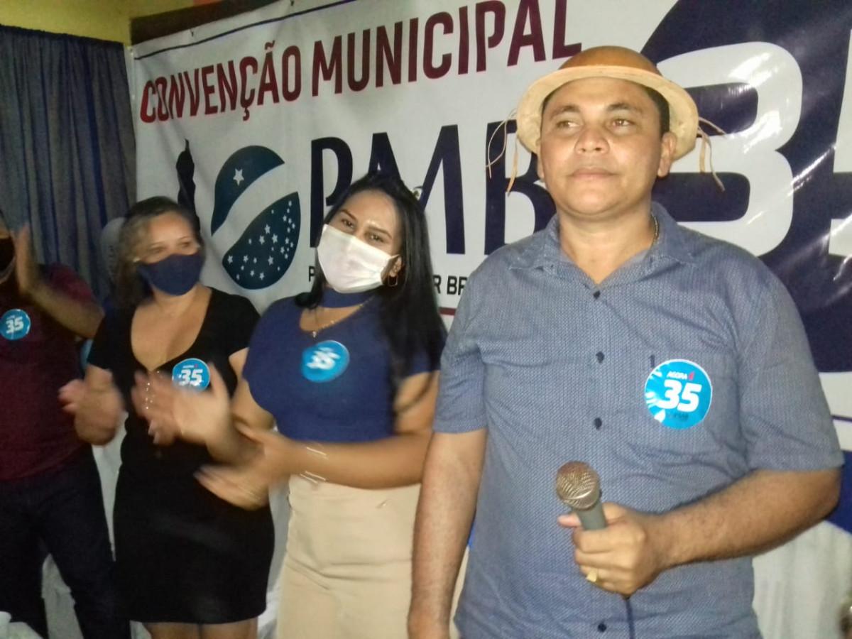 PMB realiza Convenção Municipal em Pau D'arco do Piauí