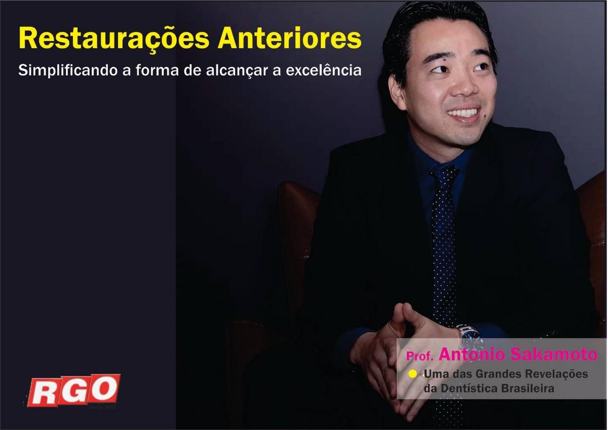 Curso em Porto Alegre Restaurações Anteriores - Simplificando a forma de alcançar a excelência  ANTONIO SAKAMOTO