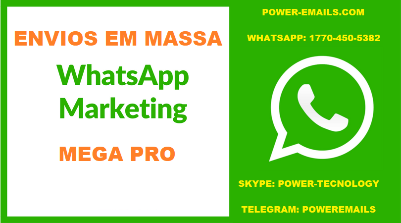 KIT WHATSAPP MARKETING SENDER ENVIOS EM MASSA