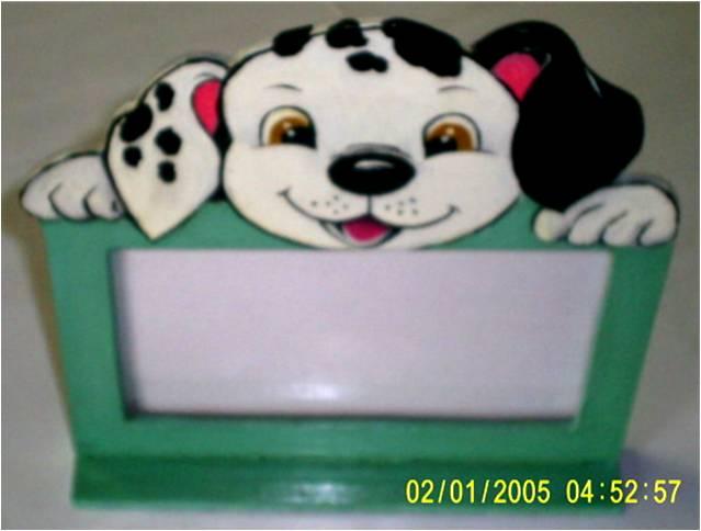 porta retrato cachorrinho