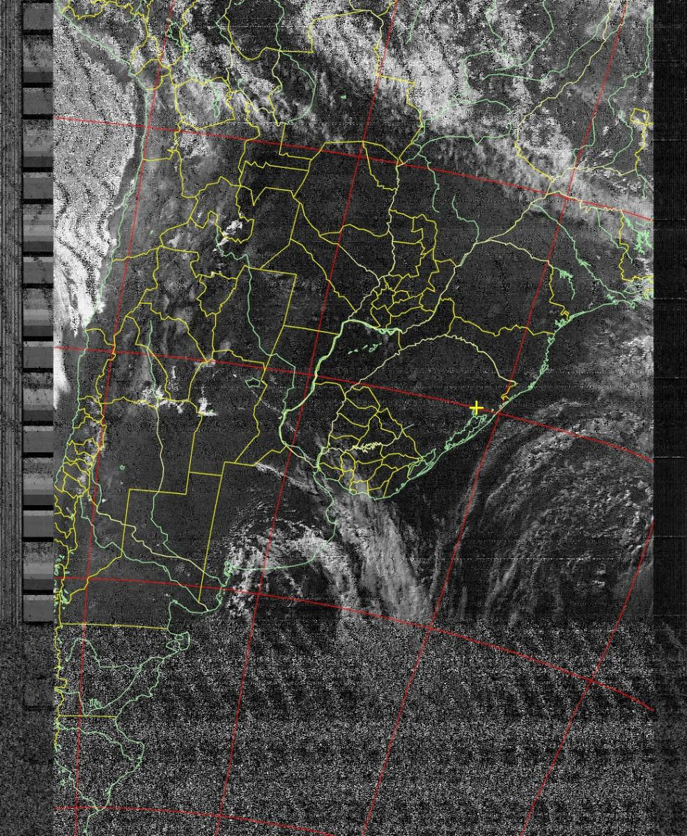 Imagem NOAA 18