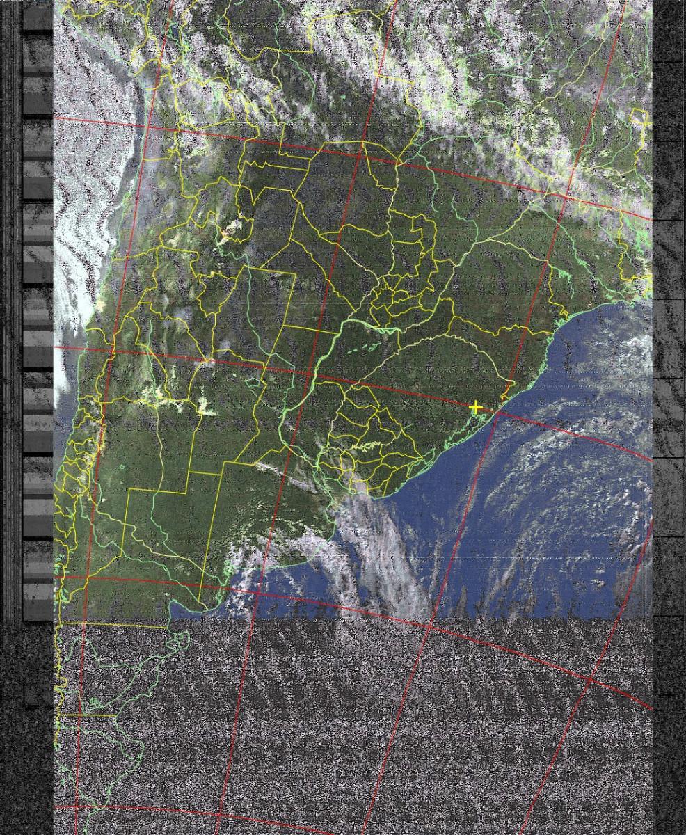Imagem de Sat. NOAA 18