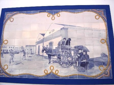 Azulejos no Mercado
