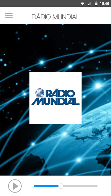 App RÁDIO MUNDIAL