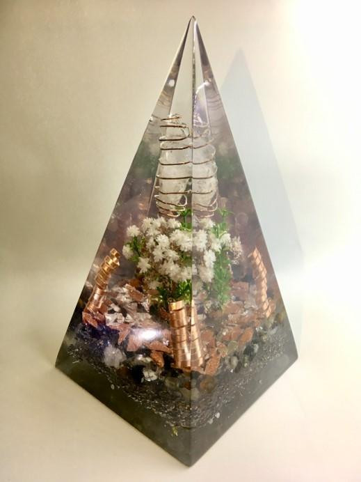Pirâmide Orgonite