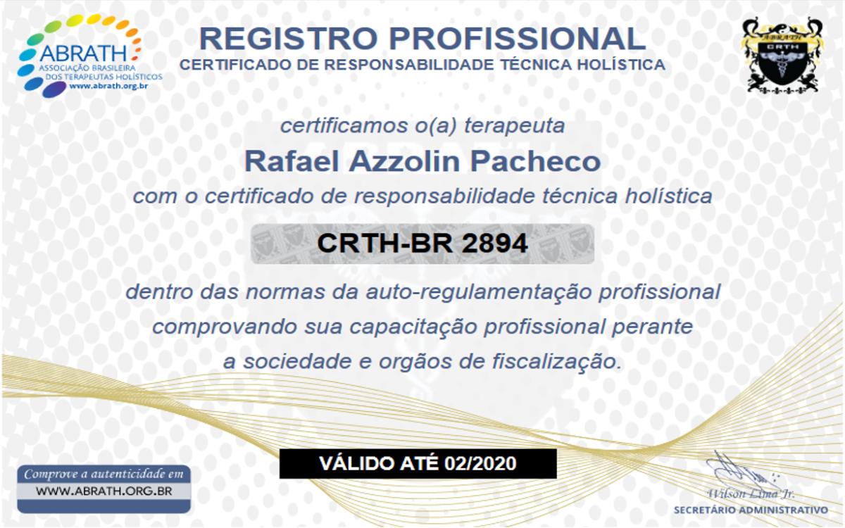 Certificado Abrath