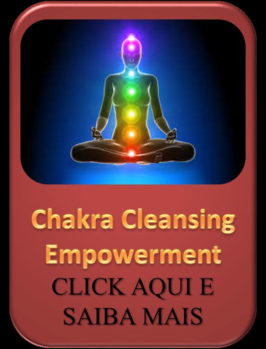 Empoderamento de reforço e limpeza de chakras