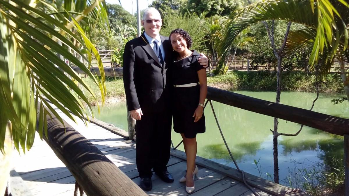 Robson e Dione Ferreira
