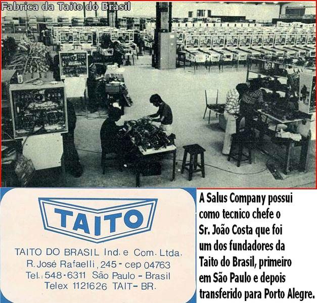 fabrica da Taito do Brasil