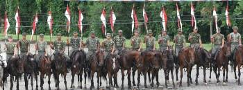 2º Regimento de Cavalaria de Guarda - parte da tropa