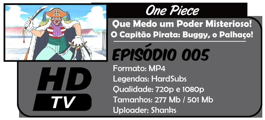 One Piece - Episódio 005