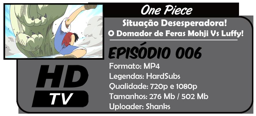 One Piece - Episódio 006