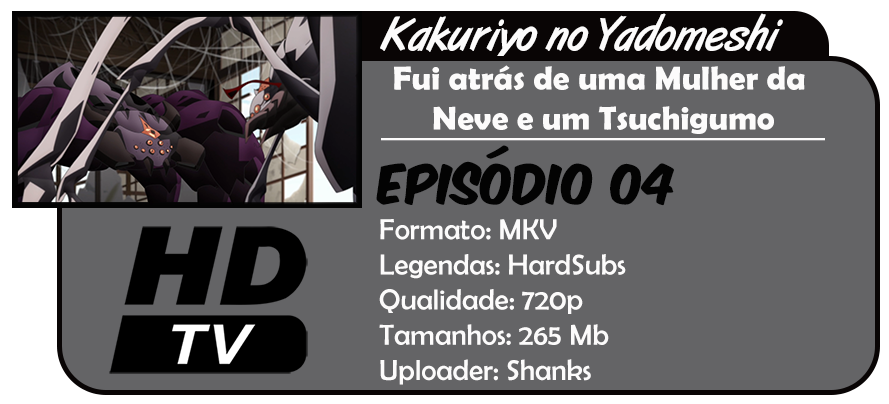 Kakuriyo no Yadomeshi - Episódio 04