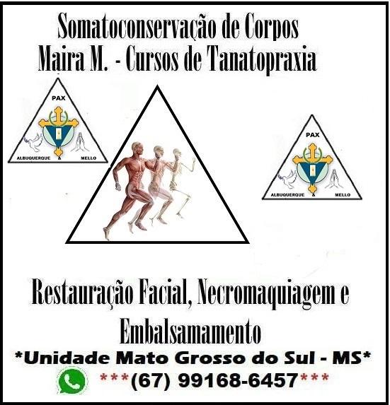 PAX ALBUQUERQUE & MELLO - LTDA, Cristiano Mello, cursos de tanatopraxia em Goiânia, Maira Mello, Maira Mizael, Tanatopraxia, Somato-Conservação de Corpos Maira M. Goiânia, CURSOS DE NECROPSIA GOIÂNIA, CURSOS DE CIÊNCIAS MORTUÁRIAS GOIÂNIA,