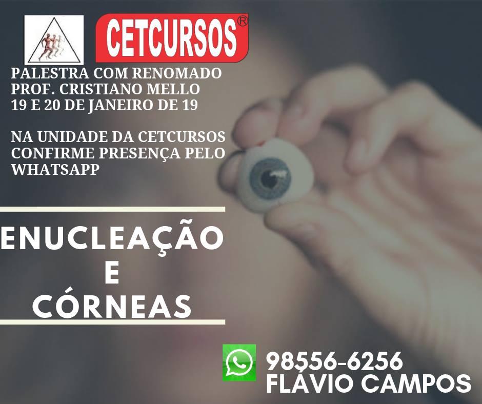 Enucleação, CET Cursos Tecnologicos, Flávio, Cristiano Mello, Pax Albuquerque & Mello