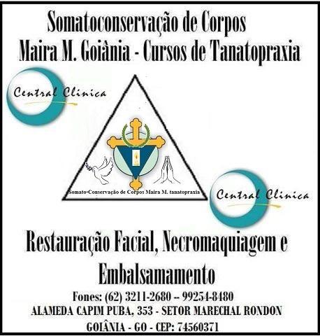 Escola de Tanatopraxia Embalsamamentos Necropsia Goiania Região e Brasil