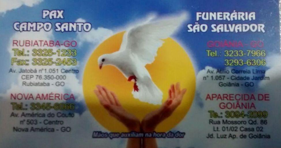 Funerária São Salvador Goiânia, Somato-conservação de corpos Maira M. Goiânia, Central Clínica Embalsamamentos