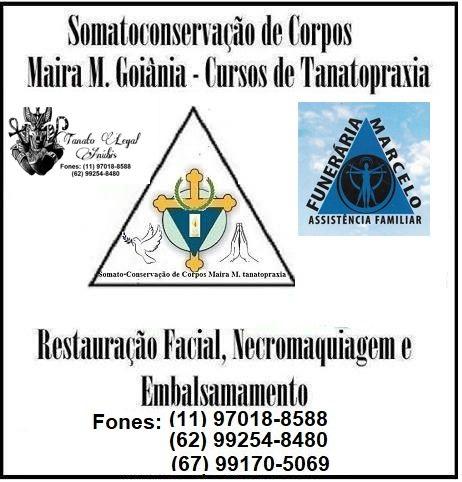 Somato-Conservação de Corpos Maira M. Tanatopraxia