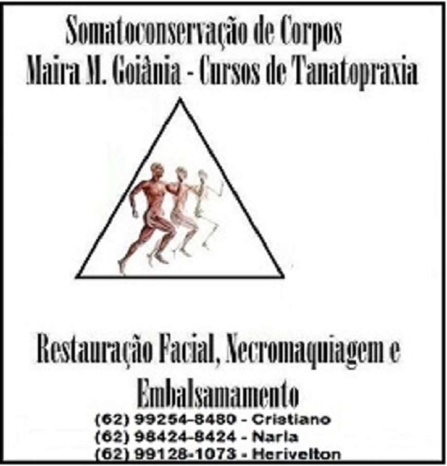 Curso de tanatopraxia Goiânia, Goiás clícica, Narla , Cristiano Mello, Maira Mizael, Curso de tanatopraxia no Brasil, Embalsamamentos