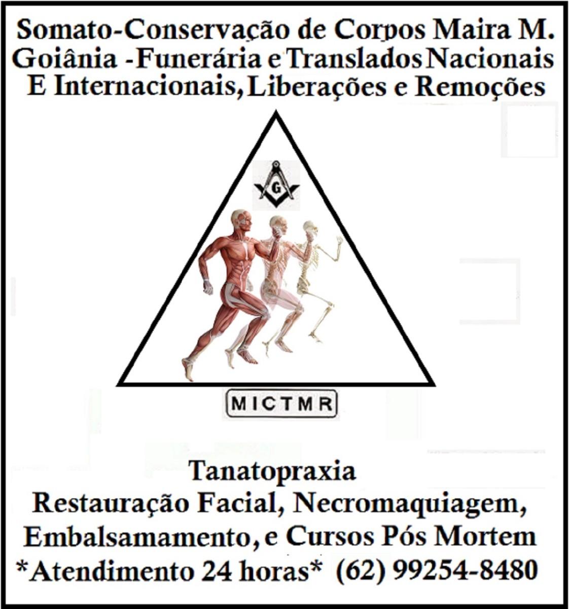 Funeraria Maira M. Goiânia, Somato-Conservação de Corpos Maira M. Goiânia, Cursos de Tanatopraxia