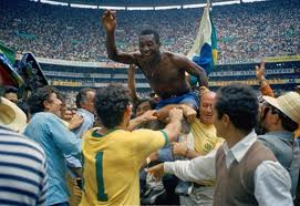 euforia de Pelé