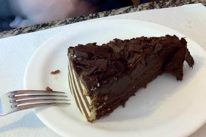 torta chocolate meio amargo