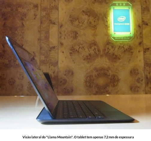 Tablet com chip Broadwell