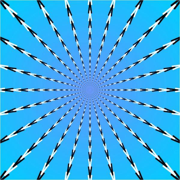ilusão de ótica cetas