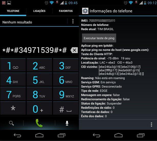 50 códigos secretos para celulares Android