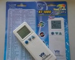 Códigos de controle universal para ar-condicionado