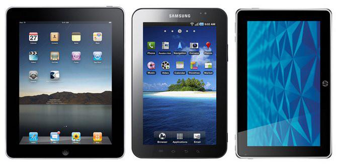 escolher um tablet