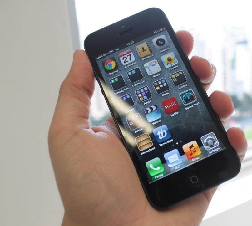 iphone 5 desempenho