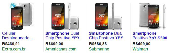 smartphone Ypy S500