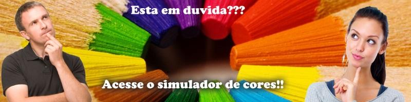 Acesse o simulador de cores