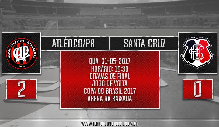 Atlético/PR 2x0 SANTA CRUZ