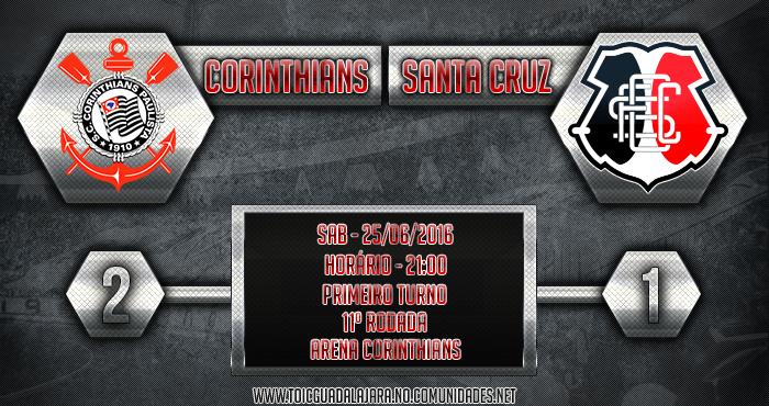 Corinthians 2x1 Santa Cruz