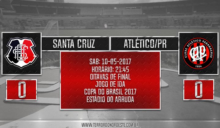 SANTA CRUZ 0x0 Atlético/PR