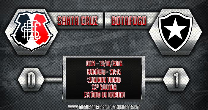 SANTA CRUZ 0x1 Botafogo