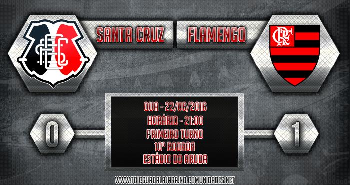 Santa Cruz 0x1 Flamengo