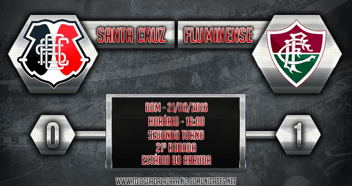 Santa Cruz 0x1 Fluminense