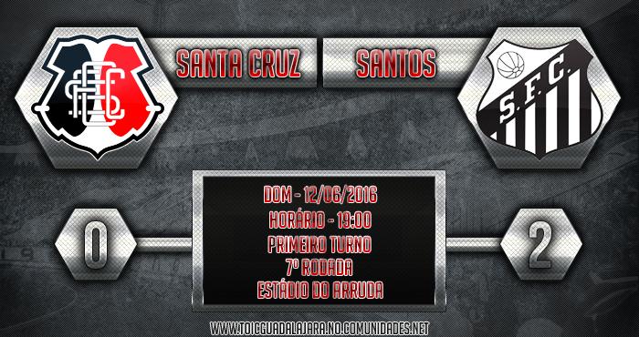 SANTA CRUZ 0x2 Santos